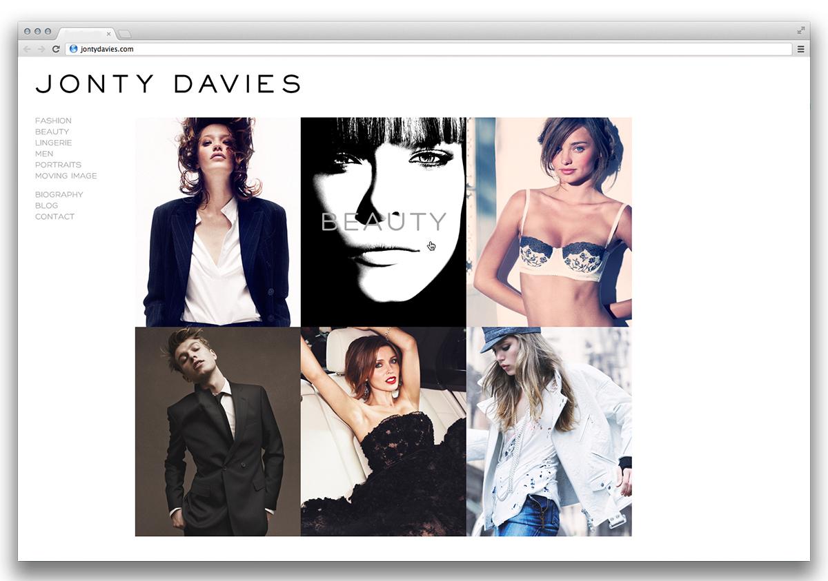 Jonty Davies Homepage