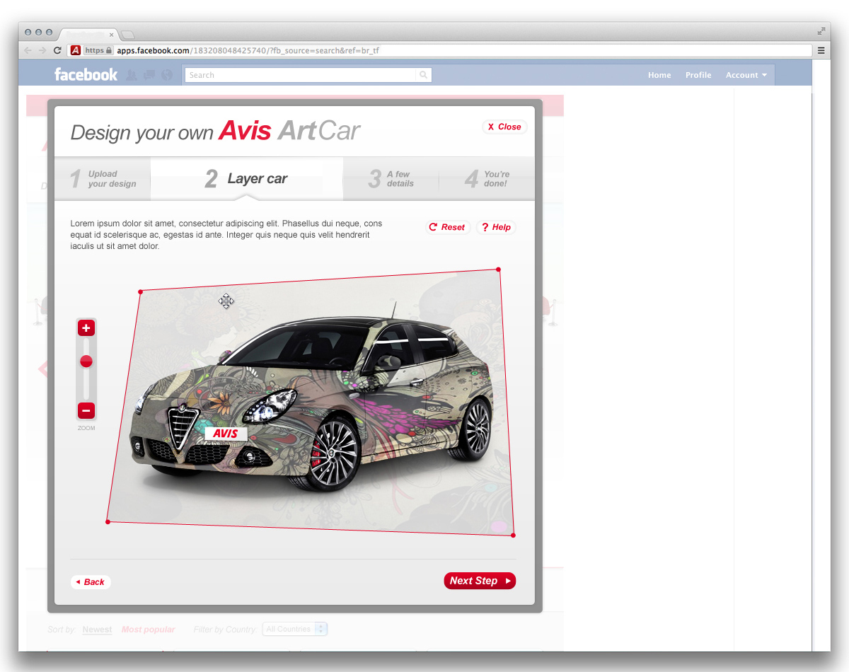 Avis ArtCar Design Yours