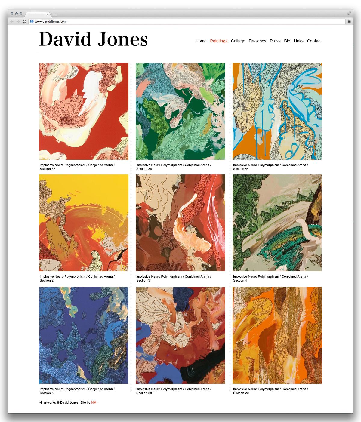 David Jones Paintings
