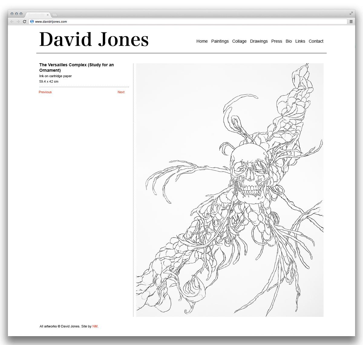 David Jones Detail