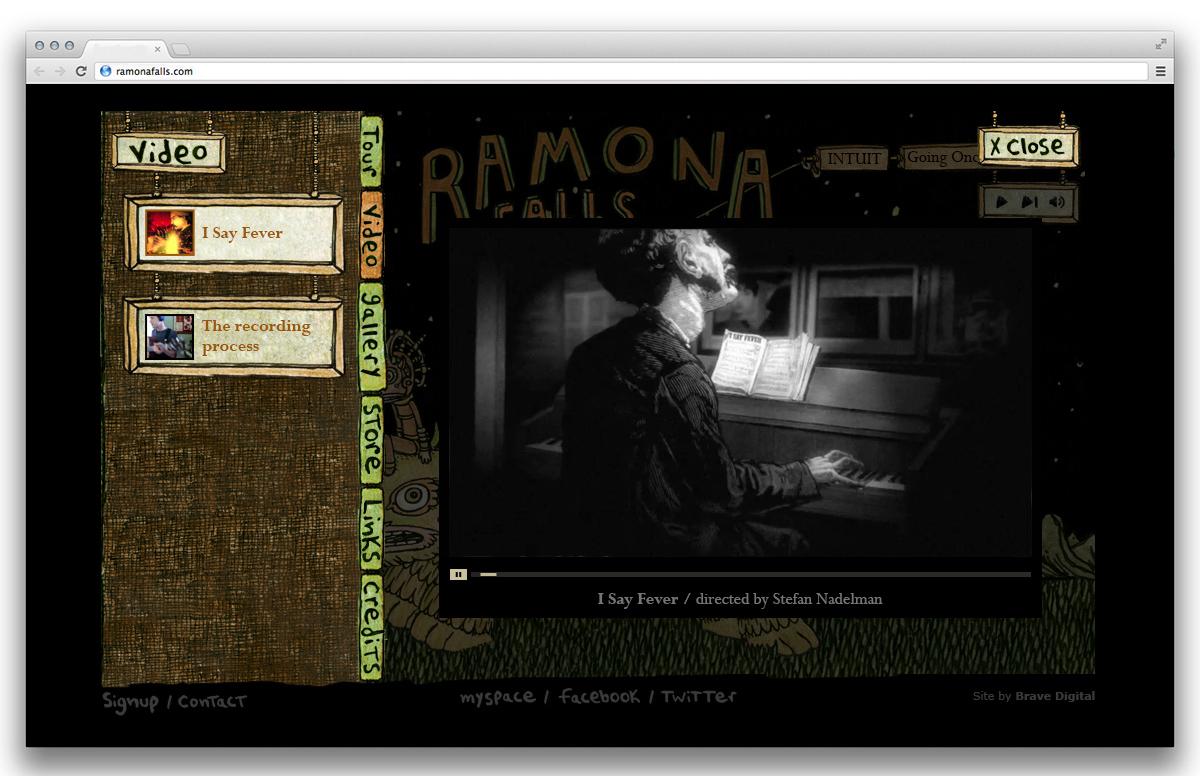 Ramona Falls Video