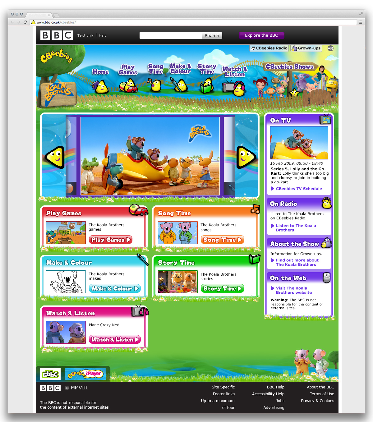 Cbeebies Show