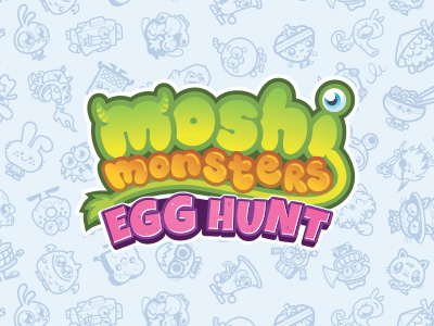 Moshi Monsters Egg Hunt